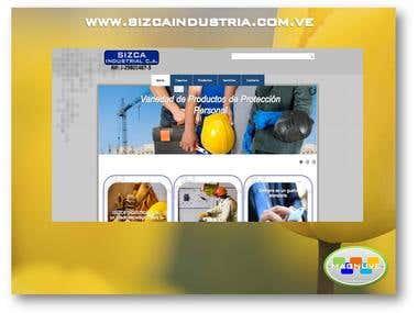 Diseño web www.sizcaindustria.com.ve