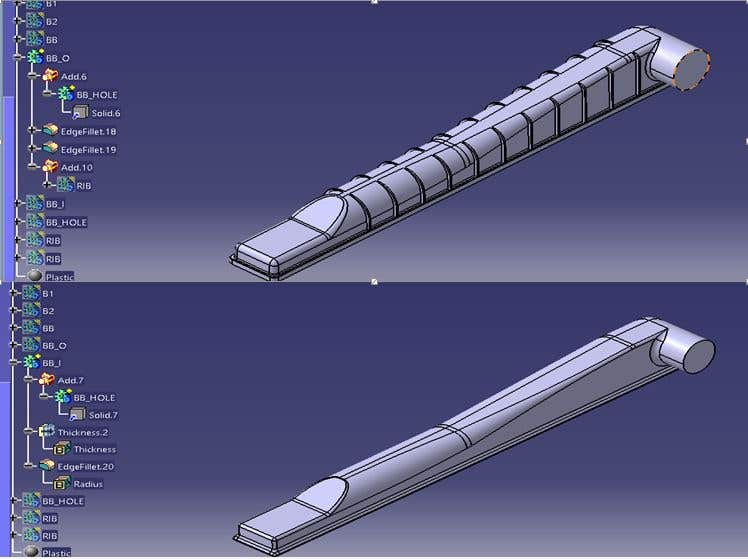 Project on CATIA V5 - DESIGN OF RADIATOR TANK COVER | Freelancer