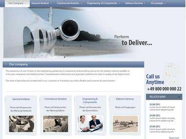 E I S Aircraft website project