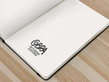Logo for COBRA Sketchbooks and Notebooks
