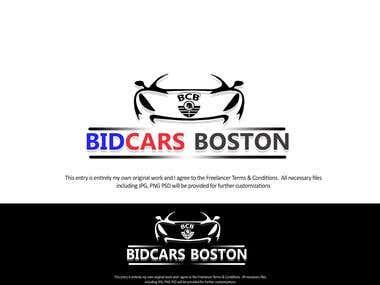SAMPLE LOGO FOR BIDCARS BOSTON