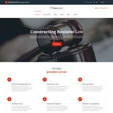 I will design Professional Law Firm Website