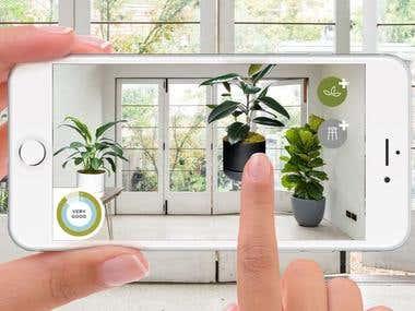 Plant Life Balance(AR app)