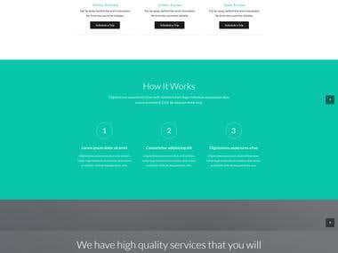 TRAVELER   ONLINE TRIP BOOKING   HTML5 Website Design