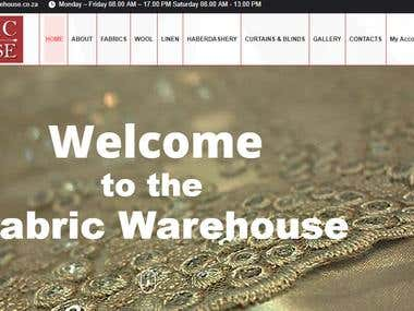 fabric fare house website