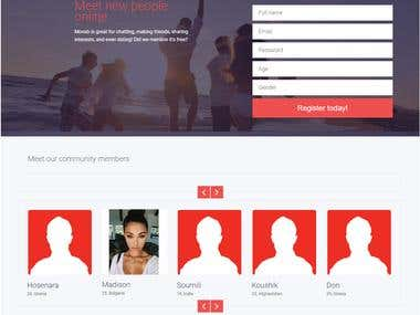 Dating Website design & Development