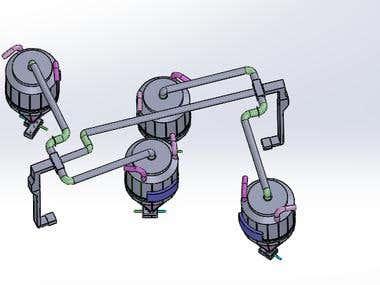 Industrial design of centrifuge