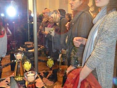 "Exhibition ""Three colors of wine"""