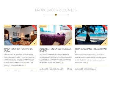Ibiza Royal Agency - Website