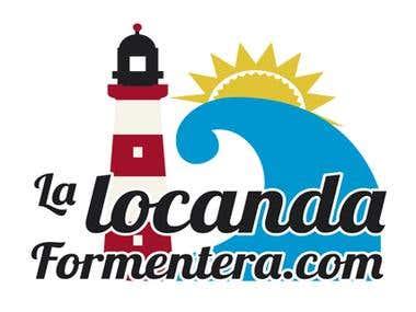La Locanda Formentera - Website y Logo