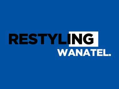 Wanatel - Logo Restyling