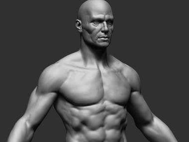 Realistic Human Character