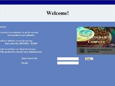 Security Code Simulator