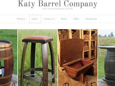 Katy Barrel (in wordpress)