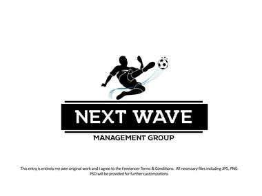 Next wawe Logo design