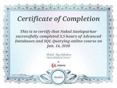 Advanced SQL Server and ETL