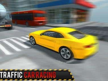 unity3D car racing game