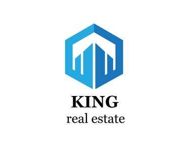 KING REAL ESTATE LOGO DESIGN