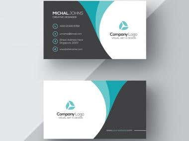 I will design your business card both side