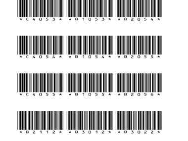 Generate Barcodes code69