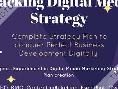 Digital Media Strategy Plan