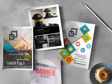 Poster designs + Mockup