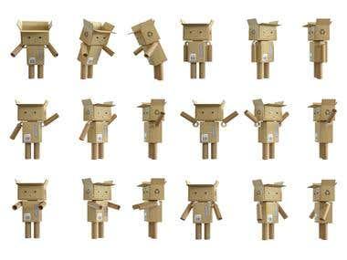 Robot Character 3D
