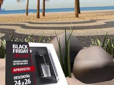 Purificador Aquarius Soft   Black Friday 2017