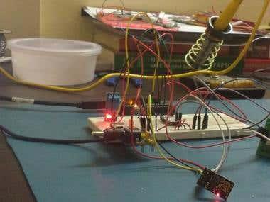 ESP8266-01 Driver for Arduino UNO