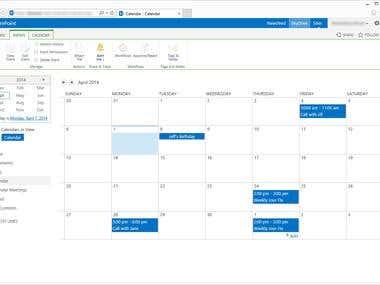 Online Meeting Planner