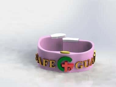 GPS tracking bracelet for kids