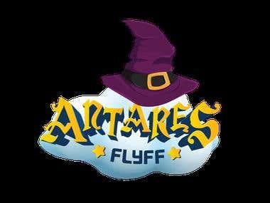 Antares Flyff Game Logo