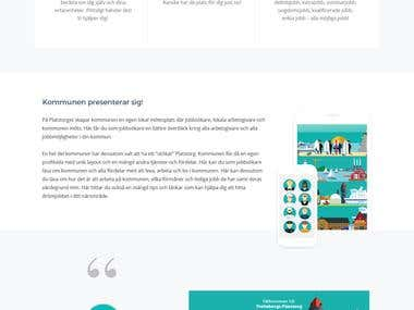 PSD to Responsive HTML based on Bootstrap4