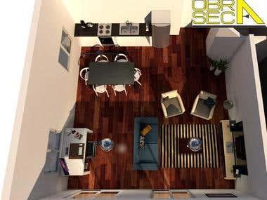 Interior design for construction company