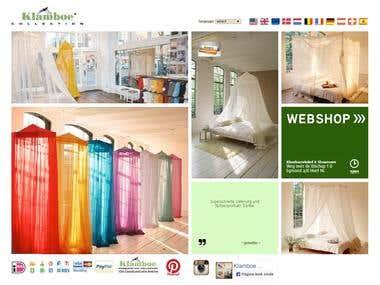 http://www.klamboe.eu/webstore/ - ecommerce website