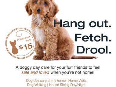 Dog Day Care Flyer