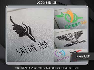 Clean Professional Logo Designs