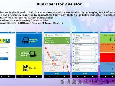 Uber like Bus operator app