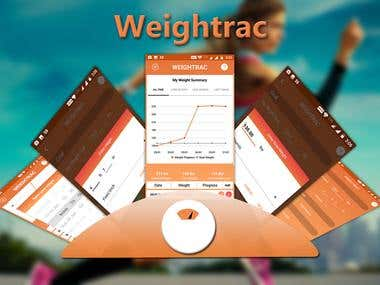 Make WeightTracking App - Weightrac