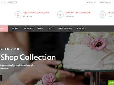 Beautiful cake design and gift Selling site online.