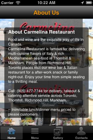 Restaurant App(Android)