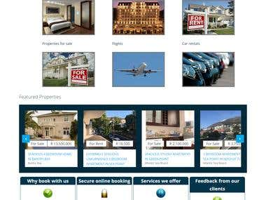 Online property Dealing Portal