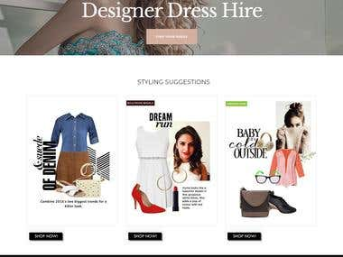 Online Style Mix Portal for Fashion