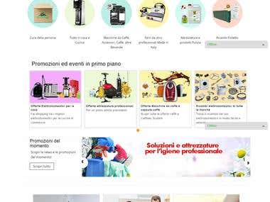 Online Home Appliances Portal