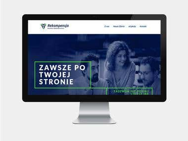 rekompensja.pl – Web Design for a Lawyer