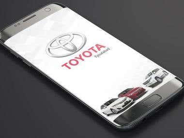 Toyota Motors App