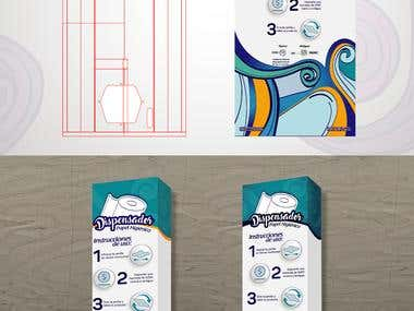 Paper dispenser design