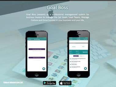 Goal Boss- Management System