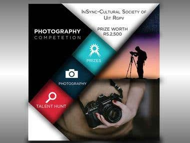 A Poster Designed for Photography Competition
