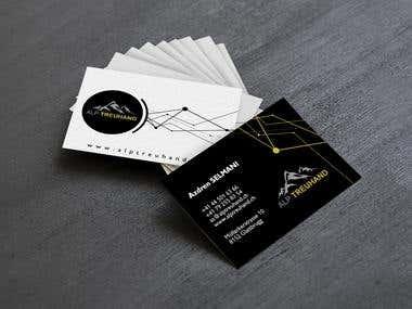 Alp Treuhand Business Card